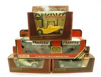 Collection of 4 Matchbox Models Of Yesteryear diecast model vehicles