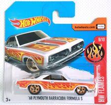 Coche Hot wheels '68 PLYMOUTH BARRACUDA FORMULA S NUEVO BLISTER SIN ABRIR
