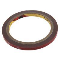 10X(3M Auto Acrylic Foam Double Sided Attachment Tape 6 mm Car Automotive Tr P4)
