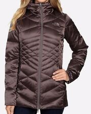 NEW THE NORTH FACE ACONCAGUA PARKA Women's Grey/Blue/Green Down Hooded Jacket