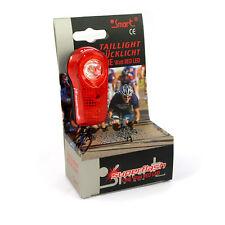 Smart 1 Watt Red LED SuperFlash Bike Bicycle Cycling Rear Tail Light