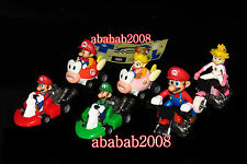 Takara Tomy Super Mario Kart Wii pull back car figure Part.2 gashapon (set 6 pcs