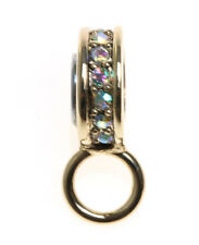 Use With The Magnetic Necklaces! Goldtone ~ Kirks Folly Charm / Pin Holder To