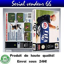"Boitier du jeu ""FIFA 99"", nintendo 64, visuel PAL FR."