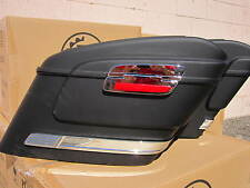 HL MATTE BLACK Hard Saddlebags fits YAMAHA  V STAR 650 1100 1300 950  Mutazu