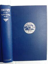 RICHARD ALDINGTON.POETRY OF THE ENGLISH-SPEAKING WORLD.H/B 1950