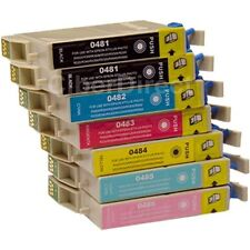 7 CiberDirect T0481 T0482 T0483 T0484 T0485 T0486 Ink Cartridges to fit Epson
