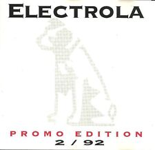 CD / ELECTROLA PROMO EDITION / EAV / BAP / TOM ASTOR / TOTO CUTUGNO / SHARK /