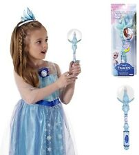 Disney FROZEN Girls Elsa's MUSICAL SNOW Globe WAND Princess Set plays LET IT GO
