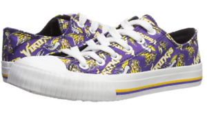 Go Shop Football Team Logo Vikings Sneaker Athletic Running Shoes Sneakers for Wowen and Men