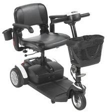 Drive Medical Spitfire EX2 3 Wheel Electric Power Travel Mobility Scooter- 12AH