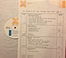 RADIO SHOW: 9/15/87 TODAY IN '64 ROY ORBISON, MANFRED MANN,ANIMALS,JOHNNY RIVERS