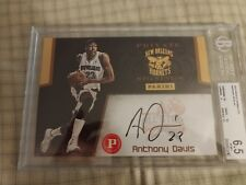 2013 Panini Private Signings Anthony Davis Box Topper Rookie Autograph Auto 5x7