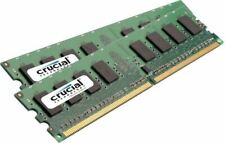 Desktop PC Memory RAM DDR2 PC2 6400 U 240 800 Mhz Unbuffered Non ECC 2 x GB Lot