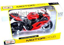 Maisto 20-07118 Kawasaki Ninja ZX-6R Motorcycle Bike 1:12 Diecast Red