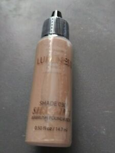 Luminess Air SILK 4-in-1 Airbrush Foundation Shade 3 030  .50 oz Sealed