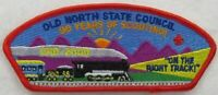 Old North State Council 070 Greensboro, NC Red BDR CSP MINT [B2409]