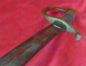 US CIVIL WAR Model 1840  LIGHT ARTILLERY SWORD