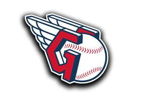 Cleveland Guardians Baseball Team Logo MLB Sticker Decal Vinyl Indians