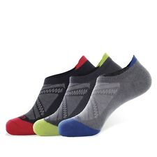 3-Pack Men's Outdoor Sports Camping Hiking Travel No Show Athletic Socks