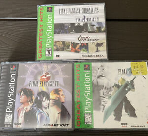 PS1 PSX Final fantasy lot VII 7 VIII 8 Chronicles