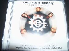 C & C / C + C Music Factory Super Hits Very Best Of Greatest Hits CD – Like New
