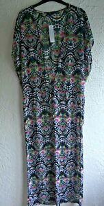 LADIES FULL LENGTH BEACH DRESS/KAFTAN FROM FREYA SWIMWEAR SIZE S  BNWT