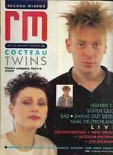 RECORD MIRROR MAGAZINE 18/10/1986 - COCTEAU TWINS, SWING OUT SISTER, HEAVEN 17