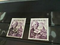 Australia high value mounted mint and used stamps R21541