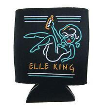 Elle King Neon Girl XXX Sign Black Soda Beer Bottle Can Cooler New Official