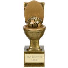 "FOOTBALL Soccer Toilet 6"" Trophy FREE ENGRAVING Personalised Novelty Award Flush"