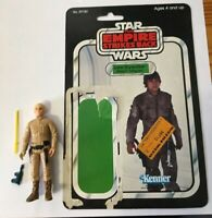 Star Wars Vintage Luke Skywalker (Bespin ) COMPLETE with 31B Cardback UNCUT