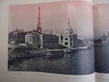 Paris. Panorama de l'Exposition Universelle 1900. Album + plan couleur