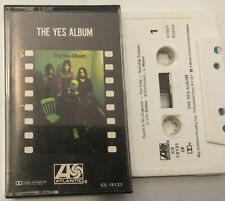 YES The Yes Album CASSETTE Tape Atlantic CS 19131 OOP Chris Squire John Anderson