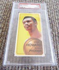 Greg Howard 1970 Topps Tall Boy #117 Basketball Card PSA Graded Slabbed NM 7