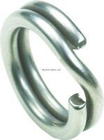 Owner Heavy Duty Stainless Steel Hyper Wire Split Ring #8 120 lb 7/Pack 5196-084