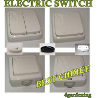 Outdoor & Indoor  Single & Double & Inline Electric Switch Weatherproof & No
