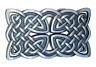 Buckle Gürtelschnalle Celtic Keltischer Knoten 3D Optik für Wechselgürtel Gürtel