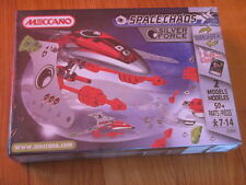 New & sealed MECCANO 3150A SPACE CHAOS SILVER FORCE 2 MODELS 50+ pcs 1 Trading