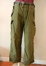 CANADIAN ARMY OD COMBAT PANTS  SIZE 6740