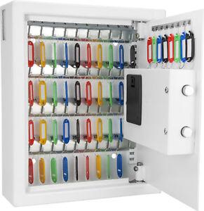Barska 48 Key Safe Digital Electronic Cabinet Security Lock Storage Box AX12658