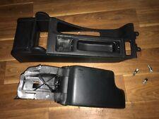 BMW E46 Leder Armlehne MAL Mittelarmlehne schwarz Leder komplett