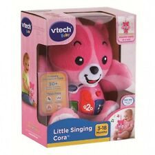 NEW VTECH LITTLE SINGING CORA MUSICAL ACTIVITY EDUCATIONAL TEDDY BEAR 165753
