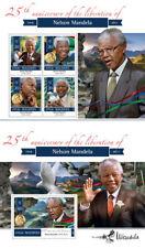 Nelson Mandela Africa Independence Nobel Peace Prize Maldives MNH stamp set