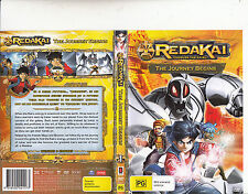 Redakai:Conquer The Kairu-2011/13-TV Series Canada-9 Episodes-DVD
