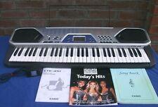 CASIO CTK-481 Electric Keyboard -MIDI 100 ,61 Full Size Keys,Lovely condition