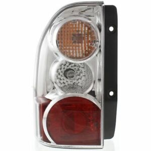 For XL-7 04-06, Driver Side Tail Light, Clear and Red Lens