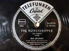 "7542) 10"" 78 RPM - Ray Anthony - The Honeydripper - Telefunken - C 80 215 - 1952"