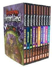 Goosebumps Horrorland Series Collection R L Stine 10 Books Set (revenge of The