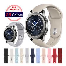 22mm Silicone Sport Wrist Watch Straps for Samsung Gear S3 Smart Watch Band